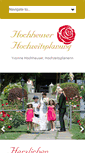 Mobile Preview of hochzeitsplanung.ch