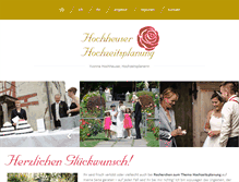 Tablet Preview of hochzeitsplanung.ch